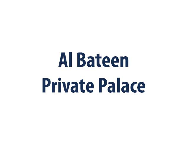 Al Bateen Private Palace