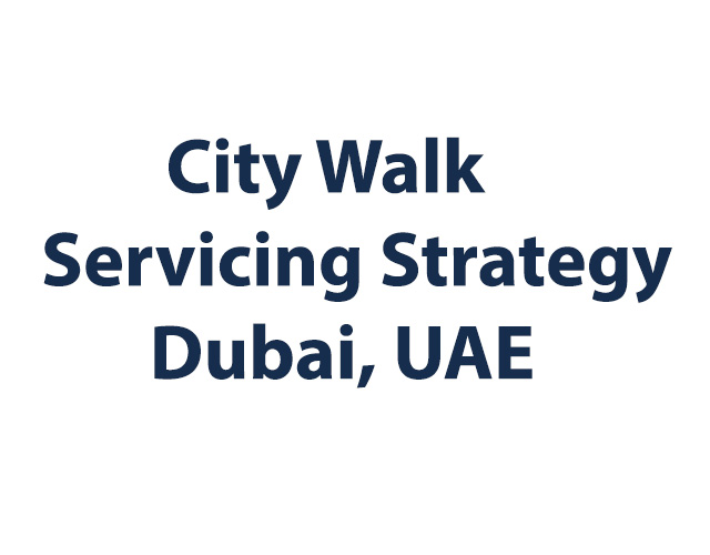 City Walk Servicing Strategy